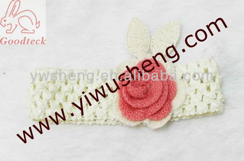 Hermosa Crochet La Venda Del Bebé,Puro Al Por Mayor Crochet Tejido A ...