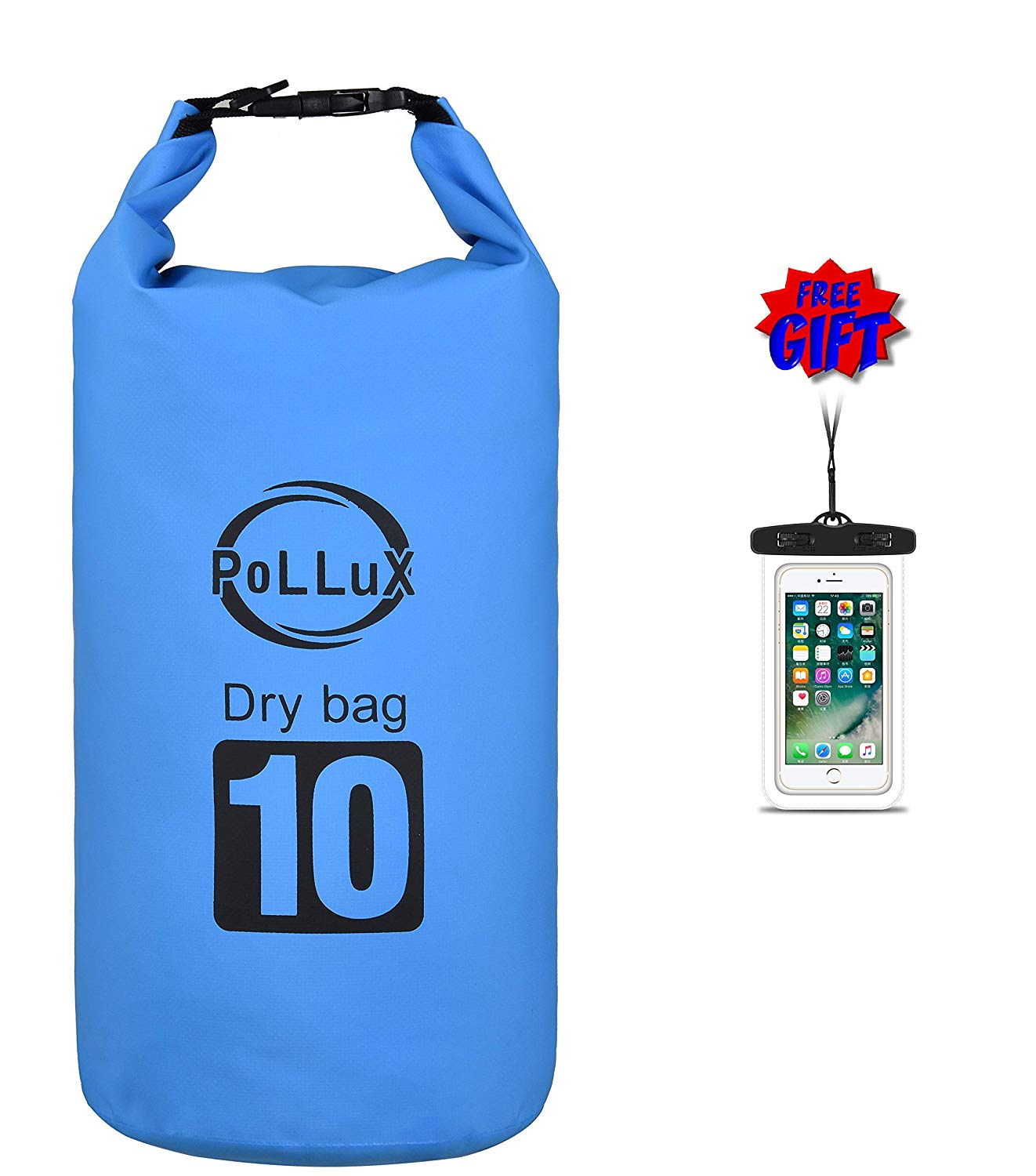 Get Quotations · Dry Bag 2L   5L   10L   20L Waterproof Ultralight Portable  Personal Backpack Compression Roll 8ffb9557e9ac0