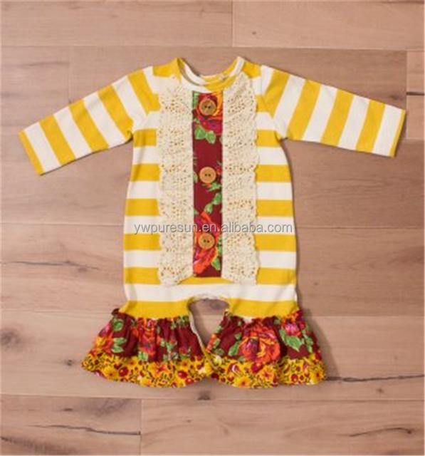 655bfeae9 fashion design infant baby girls wholesale boutique clothes romper