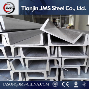 high quality Hot selling galvanized u beam steel U channel structural steel c channel / C profil price