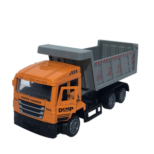 Amazon top sell 2018 1:32 mini alloy dump truck toy for sale