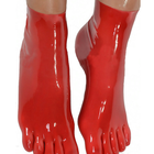 2018 New Arrival Fashion Latex Toe Socks Rubber Socks Sexy Costumes