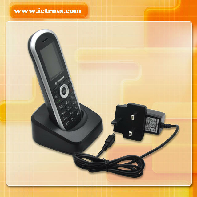 New 2012!!!!!Vodafone 3G GSM cordless phone, 900/1800/1900/2100mhz GSM FWP ETS2