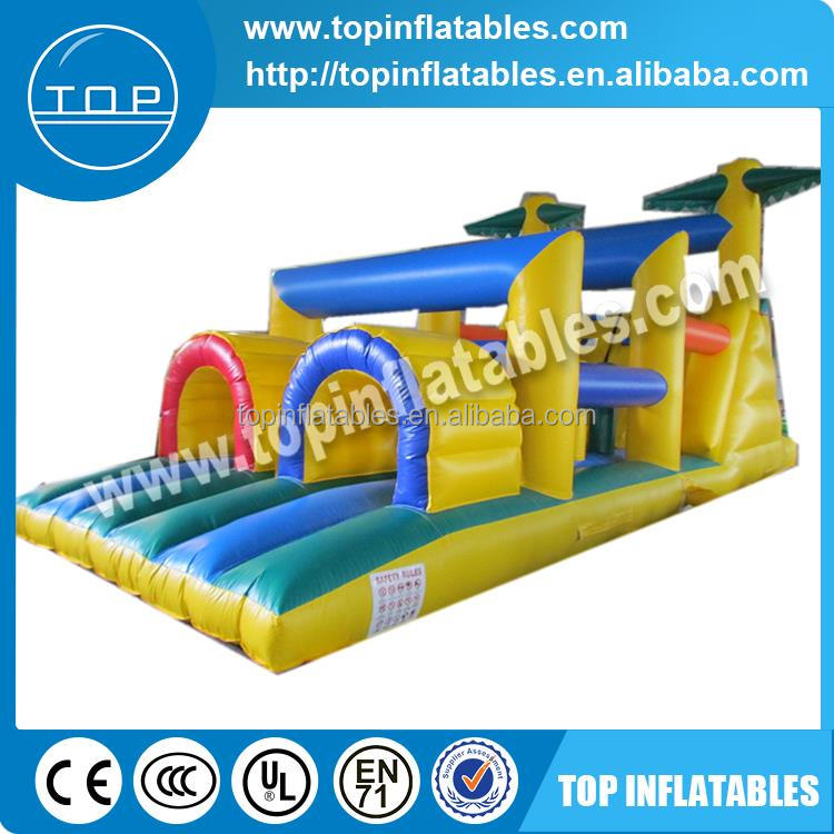 Trade Assurance floating water park wipeout course sale inflatable pool obstacle for kids and adults