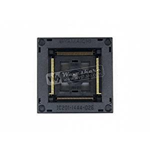 pzsmocn Test/&Burn-in Socket IC201-1004-008 Yamaichi IC Test /& Burn-in Socket for QFP100//TQFP100//FQFP100//PQFP100 package Pitch 0.5mm