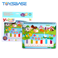 Farm Animal Series Educational Learning Machine Baby Tablet Toy