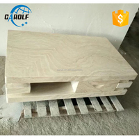 Italian White Marble Travertine Unique Coffee Table with drawer