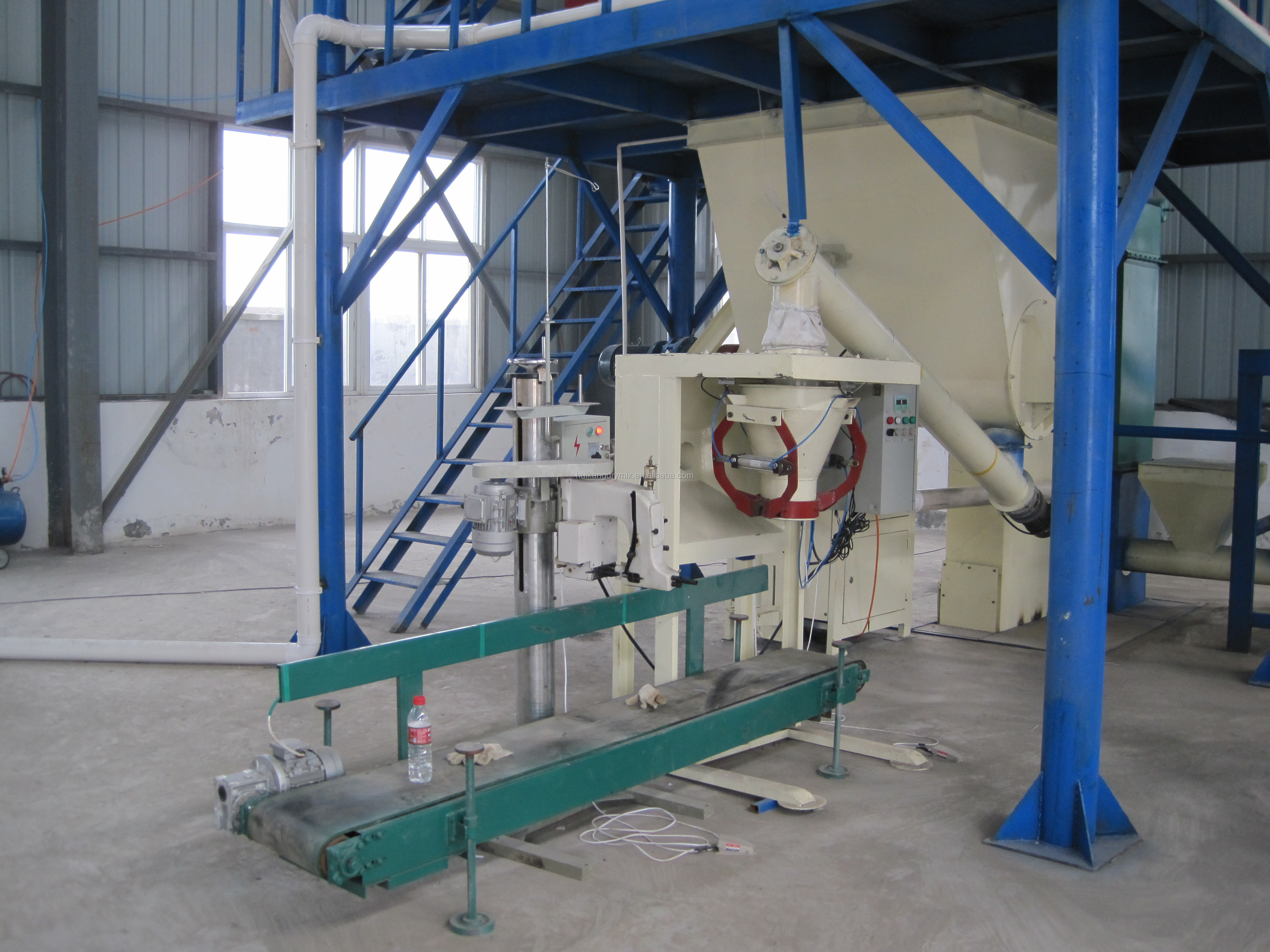Lime Sand Concrete Cement plastering Mortar Packaging Machine