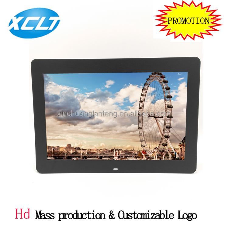 14 inch multi-function play video music picture digital photo frame advertising machine
