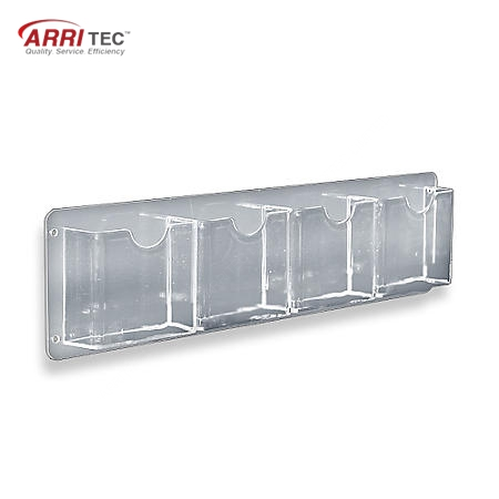 Wall Mounted Polyester Fabric New Products Acrylic Pamphlet Rack