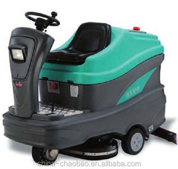 Concrete walk behind floor scrubber machine buy concrete for Concrete floor scrubber