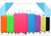 A lot of colors Spandex luggage bag in promotion with waterproof luggage covers