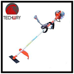 grass cutting machine honda gx35 brush cutter with nylon grass trimmer line and metal blade