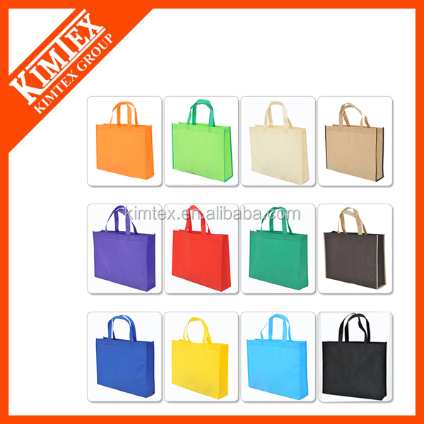 Cheap cotton custom logo reusable shopping bags foldable