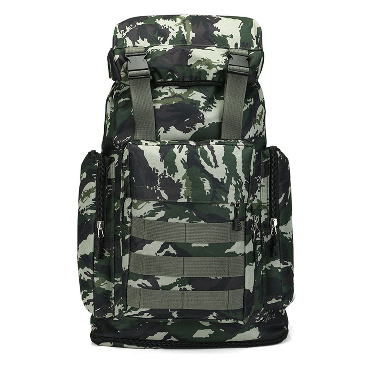 617e1d870d Pajamasea Large Camping Backpack Tactical Military Rucksack Outdoor Sports  Bag Waterproof Hiking Hunting Backpacks Camouflage