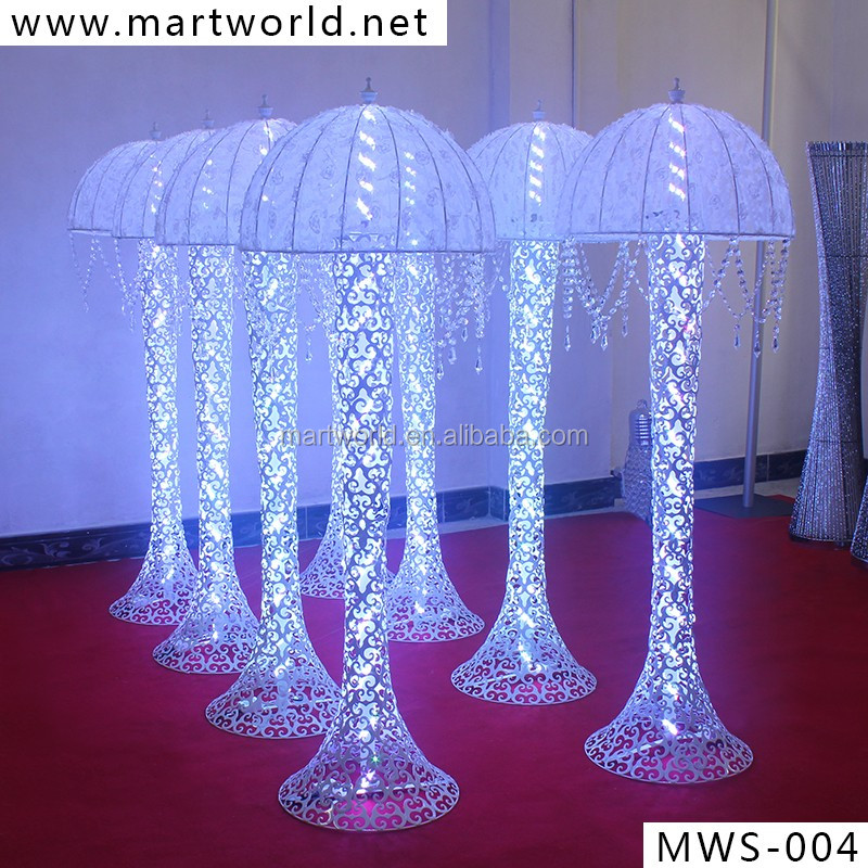 2018 Hot Sale! LED Column Wedding Centerpiece, Crystal