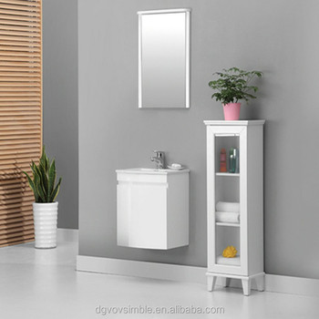 High End Home Mirror Vanity Eco friendly Gloss White Laminate Curved Modern MDF Bathroom Vanity. High End Home Mirror Vanity Eco friendly Gloss White Laminate