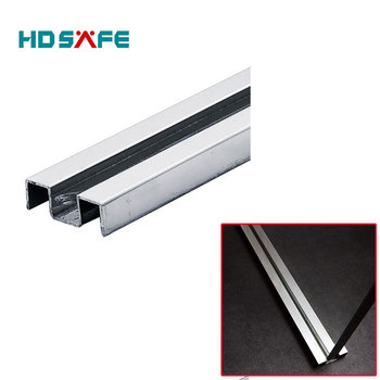 Construction Material Stainless Steel Shower Track For 8-12mm Glass ...