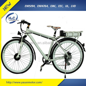 36V 10Ah 250W Bafang City Electric Bicycle Rear wheel Battery Ebike, Simple and Generous Design with PAS