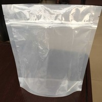 clear zip bags pouches packaging big ziploc bags