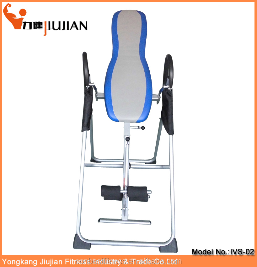 Best Selling Folding Soft PU Back Inversion Table with CE Certification