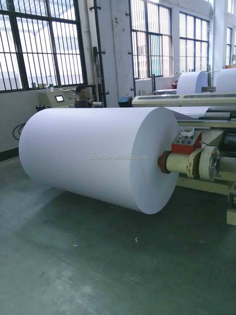 76mm Core Thermal Paper Roll Products&Jumbo Roll Paper Printing Services