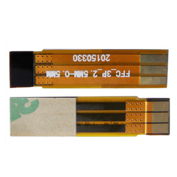china high quality new 1.0mm width yellow usb fpc
