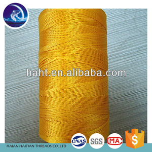 china supplier twisted 210d polyester fishing net line exported india