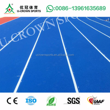 High quality Synthetic Rubber Athletic Running Track Surface Outdoor Sport Surface