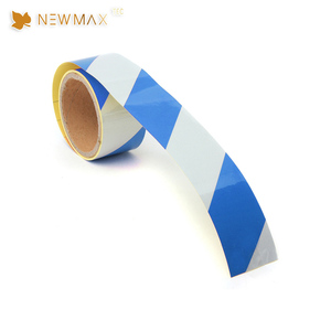 Carton Sealing High Quality Blue White Reflective Tape Roll