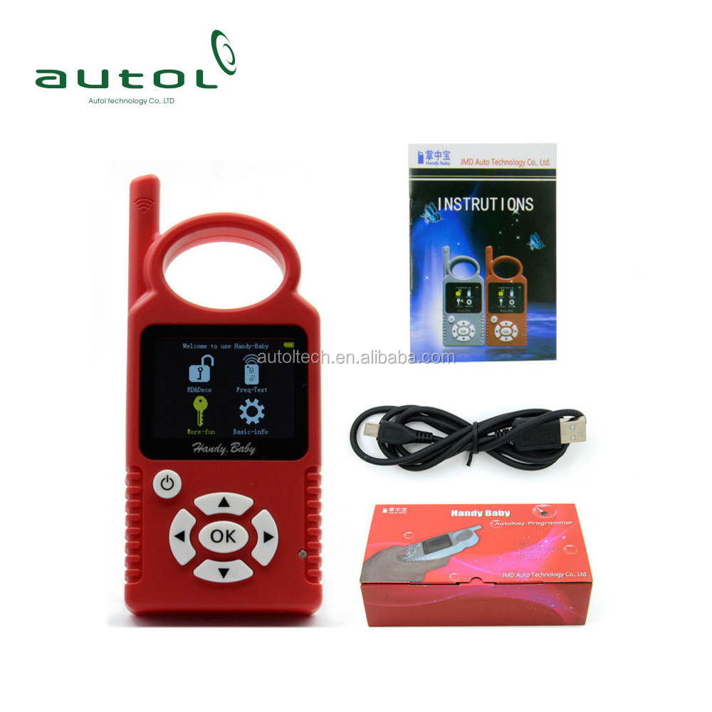 Free Shipping JMD Handy Baby CBAY Car Key Copy Key Programmer Update 468 KEY PRO III +10pcs JMD Cbay 4D Copy Chips