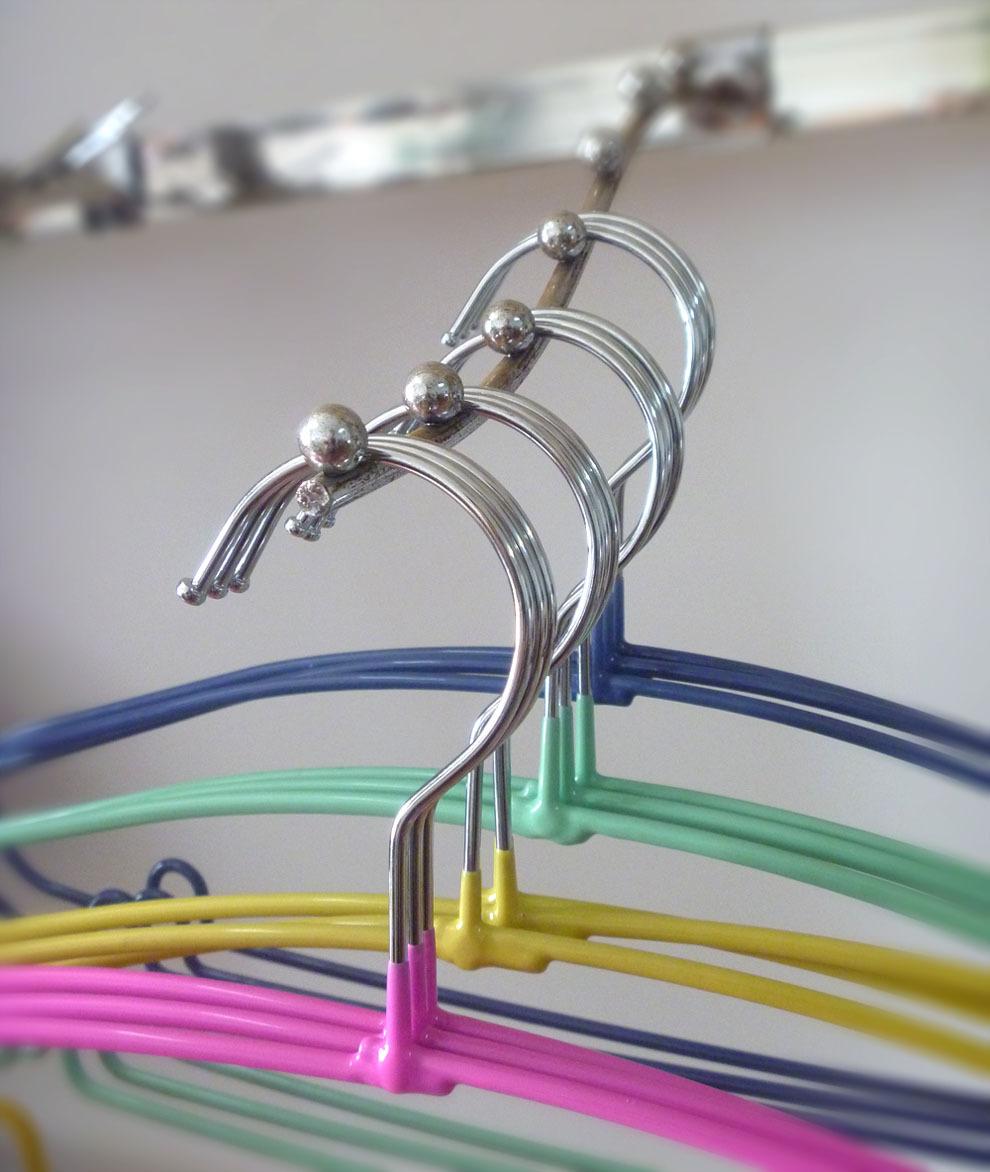 Wäsche Pvc-beschichtung Metall Kleiderbügel,Schweren Draht ...