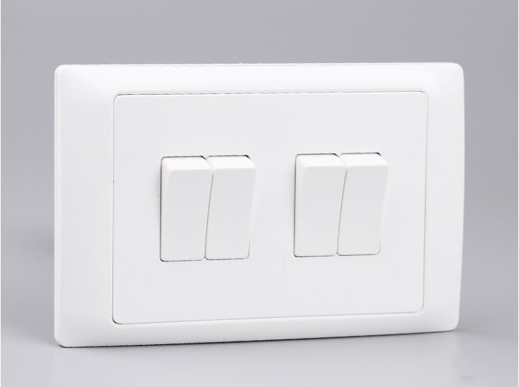 1 Gang 3 Way Switch,Electrical Light Switch,British Style 10a 250v ...
