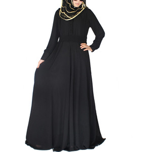 attractive design black abaya burqa