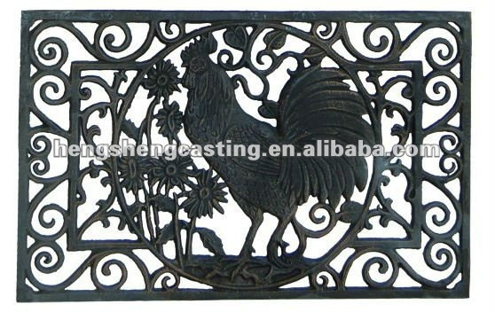 Etonnant Cast Iron Rooster Door Mat   Buy Cast Iron Doormat,Metal Door Mat,Antique Door  Mat Product On Alibaba.com