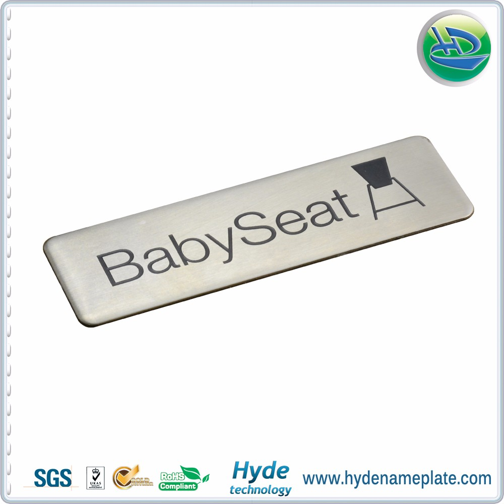 Abs Plastic Auto Parts Car Body Sticker Chrome Badge Emblem For ...