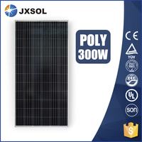 new designed 300Watt poly solar panels with battery for home system
