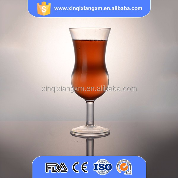 On line sell plastic ps clear wine glass plastic