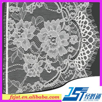 Knit or woven rigid raschel lace fabric materials for underwear