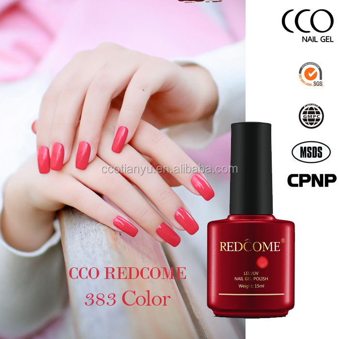 CCO nail gel polish brands Redcome High Quality Long Last Gel suppliers of nail polishes Soak Off uv gelpolish