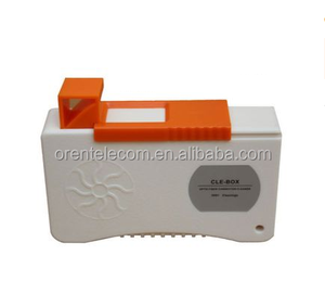 CLE-BOX Fiber Optic Cleaner Box, Suitable for connector such as SC ,FC,MU, LC,ST,D4 ,DIN,E2000 etc.
