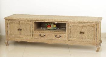Tv Kast Antiek : Antieke houten woonkamer gesneden lange tv standaard tv kast met