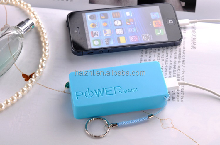 HZ-XS2keychain mobile emergency charger for samsung for mobile phone 5200mah Power Bank