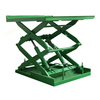 Large loading capacity warehouse fixed hydraulic scissor lifter