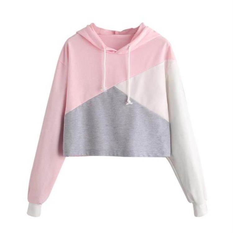 Cropped Sweatshirts Top Hoodie benutzerdefinierte Ernte Hoodies