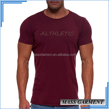 eeafd890 Athletics Mens Gym Fitness High Quality T Shirt With Printing Logo ...
