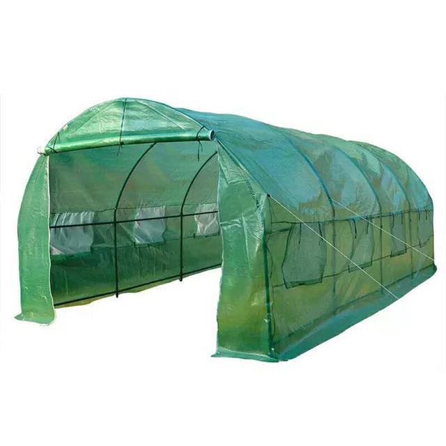 Cheap hobby vegetable garden flower greenhouse  6x3x2.2m with 2 doors
