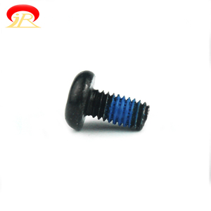 Anti Loose Nylock Nylok Flat Screws Pan Head Philips Drive Machine Nylok Screw