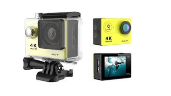 H9 Ultra HD 4K Video 170 degrees Wide Angle Sports action Cam 2-inch Screen 1080p 60fps wifi Action camera