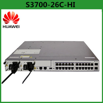 Best Price Layer 3 Switch Huawei Switch S3700-26c-hi 22 Port Fiber Optic  Switch - Buy Layer 3 Switch,Fiber Optic Switch,Huawei 22 Port Switch  Product